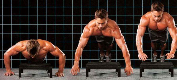 ПЕТЕРСОН: Данное упражнение исключительно быстро задает грудным объем